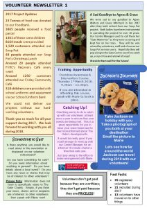 Volunteer Newsletter 1