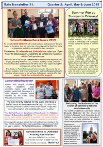 gate newsletter 31